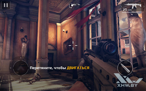 Игра Modern Combat 5 на Samsung Galaxy Tab A 7.0 (2016)