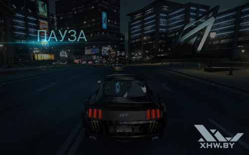Игра Need For Speed: Most Wanted на Samsung Galaxy Tab A 7.0 (2016)