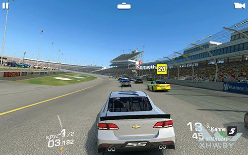 Игра Real Racing 3 на Samsung Galaxy Tab A 7.0 (2016)