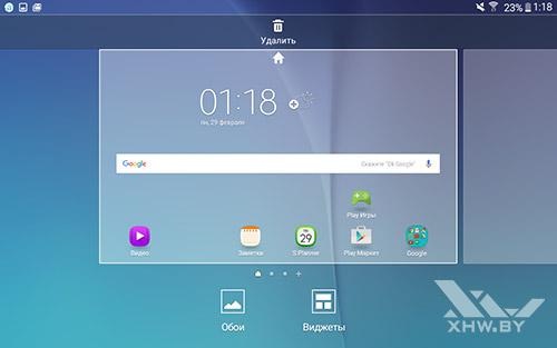 Рабочие столы Samsung Galaxy Tab A 7.0 (2016)