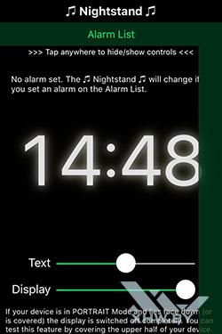 Будильник Motion Alarm на iPhone. Рис. 4