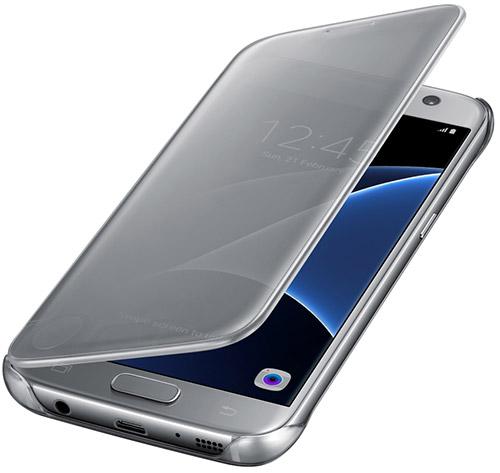 Чехол Clear View Cover для Galaxy S7