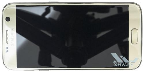 Samsung Galaxy S7. Вид сверху