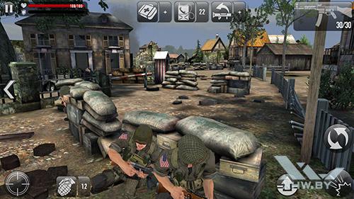 Игра Frontline Commando: Normandy на Samsung Galaxy S7