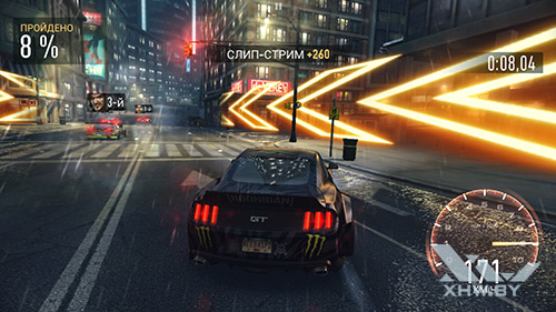 Игра Need For Speed: Most Wanted на Samsung Galaxy S7