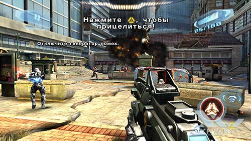 Игра N.O.V.A. 3 на Samsung Galaxy S7
