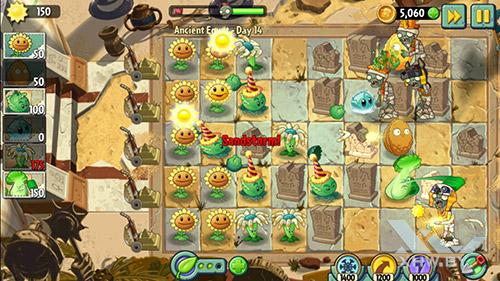 Игра Plants vs Zombies 2 на Samsung Galaxy S7
