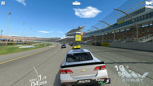 Игра Real Racing 3 на Samsung Galaxy S7