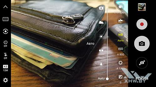 Баланс белого камеры Samsung Galaxy S7
