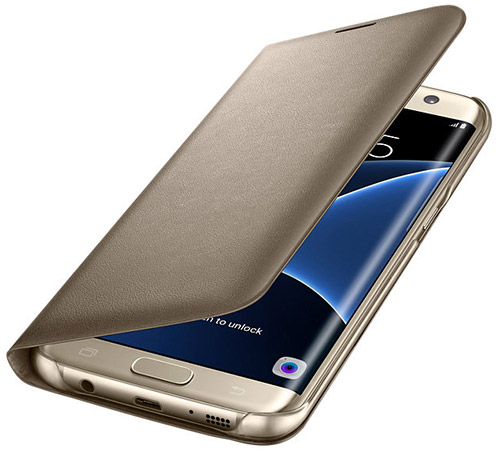 Чехол Samsung LED View Cover для Galaxy S7 edge