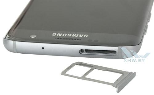 Держатель для SIM-карты Samsung Galaxy S7 edge
