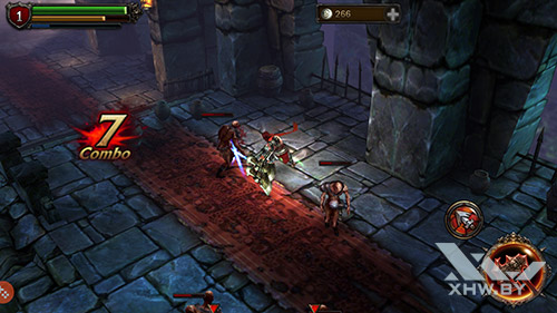 Игра Eternity Warriors 2 на Samsung Galaxy S7 edge