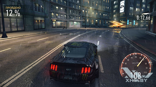 Игра Need For Speed: Most Wanted на Samsung Galaxy S7 edge