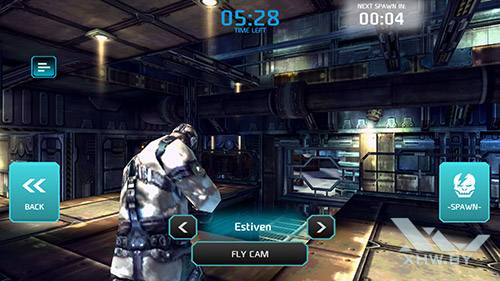 Игра Shadowgun: Dead Zone на Samsung Galaxy S7 edge