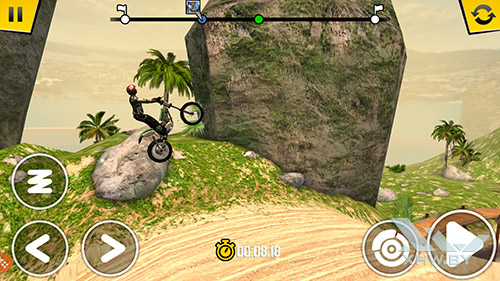 Игра Trial Xtreme 4 на Samsung Galaxy S7 edge