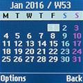 Календарь на Samsung SM-B105E