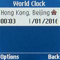 Мировое время на Samsung SM-B105E