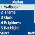 Настройки экрана Samsung SM-B105E