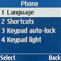 Настройки телефона Samsung SM-B105E