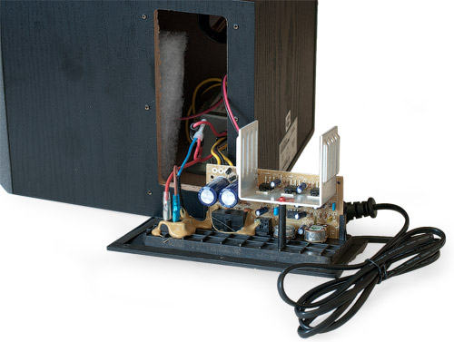 Внутренности Edifier X400