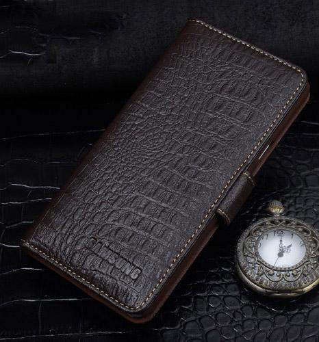 Кожаный чехол портмонедля Samsung Galaxy J5 (2016)
