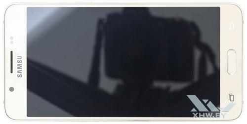 Samsung Galaxy J5 (2016). Вид сверху