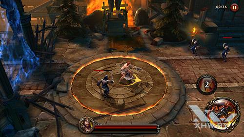 Игра Eternity Warriors 4 на Samsung Galaxy J5 (2016)