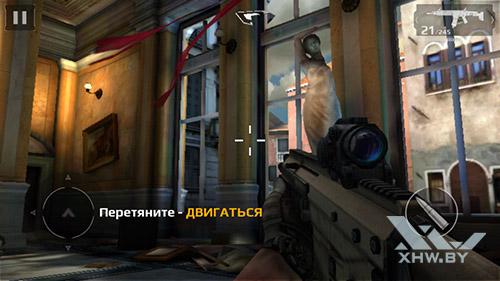 Игра Modern Combat 5 на Samsung Galaxy J5 (2016)