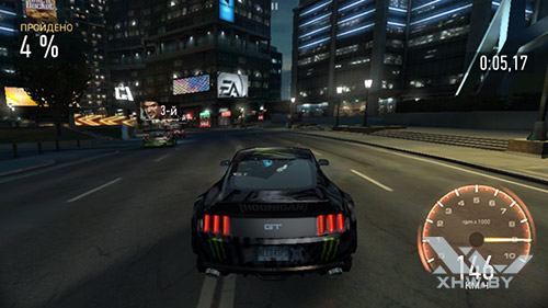Игра Need For Speed: Most Wanted на Samsung Galaxy J5 (2016)