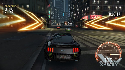 Игра Need For Speed: Most Wanted на Samsung Galaxy J7 (2016)
