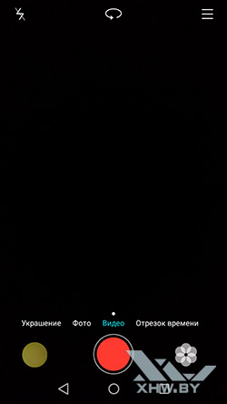 Режим видео камеры на Huawei Y5II