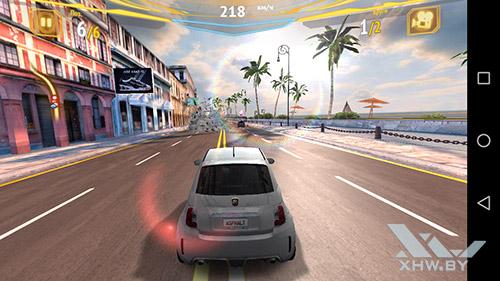 Игра Asphalt 7 на Huawei Y5II