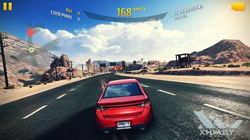 Игра Asphalt 8 на Huawei Y5II