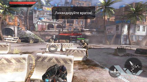 Игра Frontline Commando 2 на Huawei Y5II