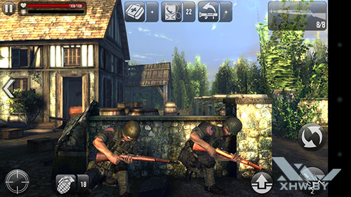 Игра Frontline Commando: Normandy на Huawei Y5II