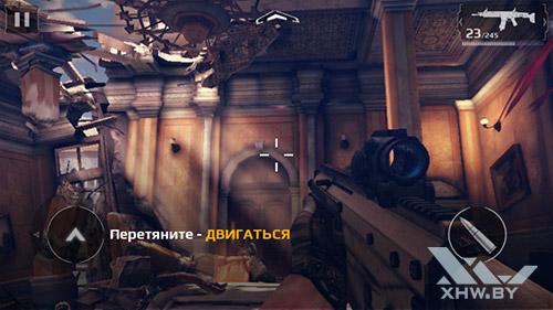 Игра Modern Combat 5 на Huawei Y5II