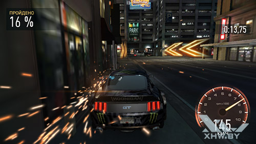Игра Need For Speed: Most Wanted на Huawei Y5II
