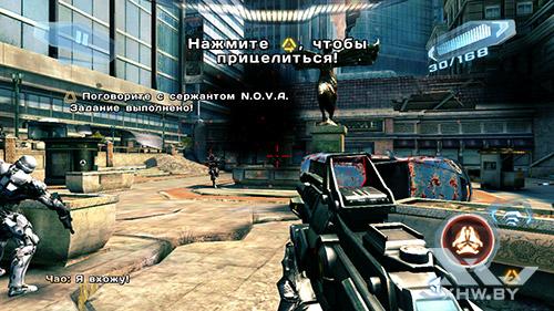 Игра N.O.V.A. 3 на Huawei Y5II