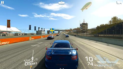 Игра Real Racing 3 на Huawei Y5II