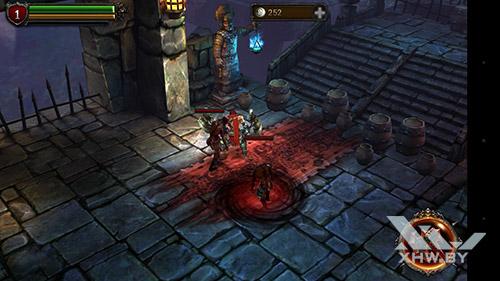 Игра Eternity Warriors 2 на Huawei P9