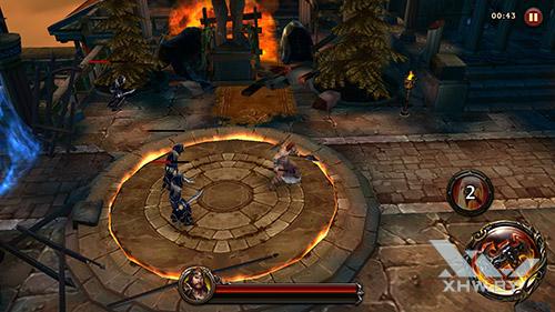 Игра Eternity Warriors 4 на Huawei P9