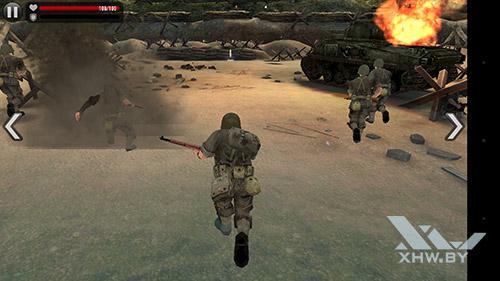Игра Frontline Commando: Normandy на Huawei P9