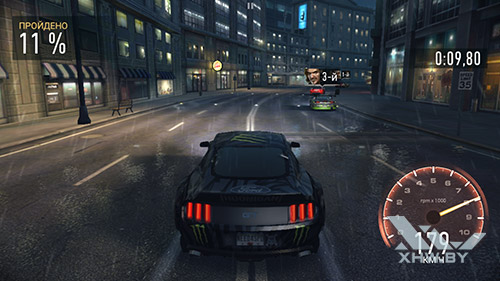 Игра Need For Speed: Most Wanted на Huawei P9