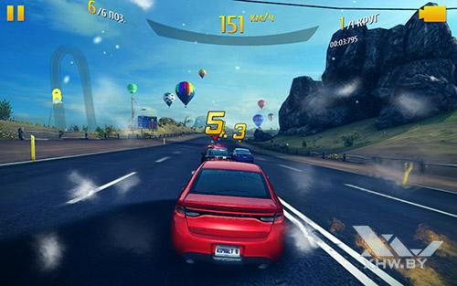 Игра Asphalt 8 на Samsung Galaxy Tab A 10.1 (2016)