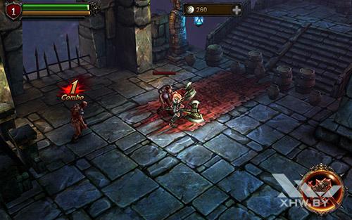 Игра Eternity Warriors 2 на Samsung Galaxy Tab A 10.1 (2016)