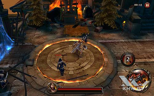 Игра Eternity Warriors 4 на Samsung Galaxy Tab A 10.1 (2016)