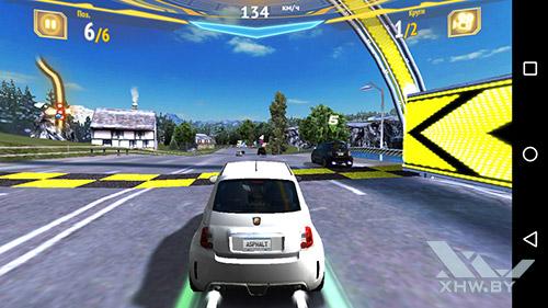 Игра Asphalt 7 на Huawei Y6 Pro