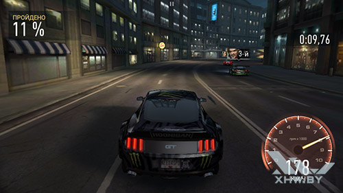 Игра Need For Speed: Most Wanted на Huawei Y6 Pro