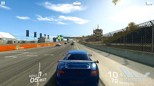 Игра Real Racing 3 на Huawei Y6 Pro