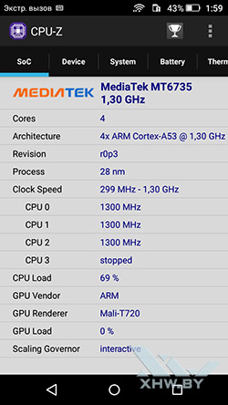 Процессор Huawei Y6 Pro